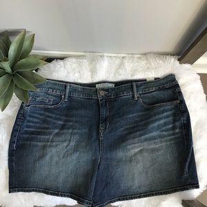 Torrid Medium Wash Denim Shorts NWT